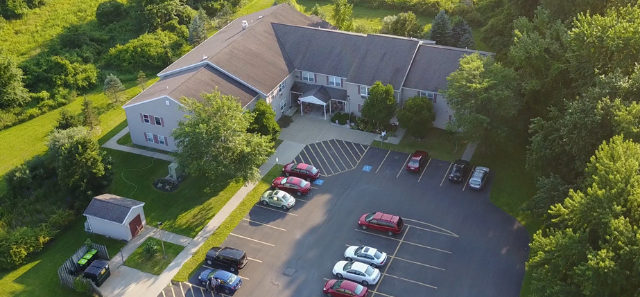 An image of the convenient Orchard Estates Apartments